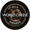 Bronzen Medaille - WORLD CHEESE AWARDS